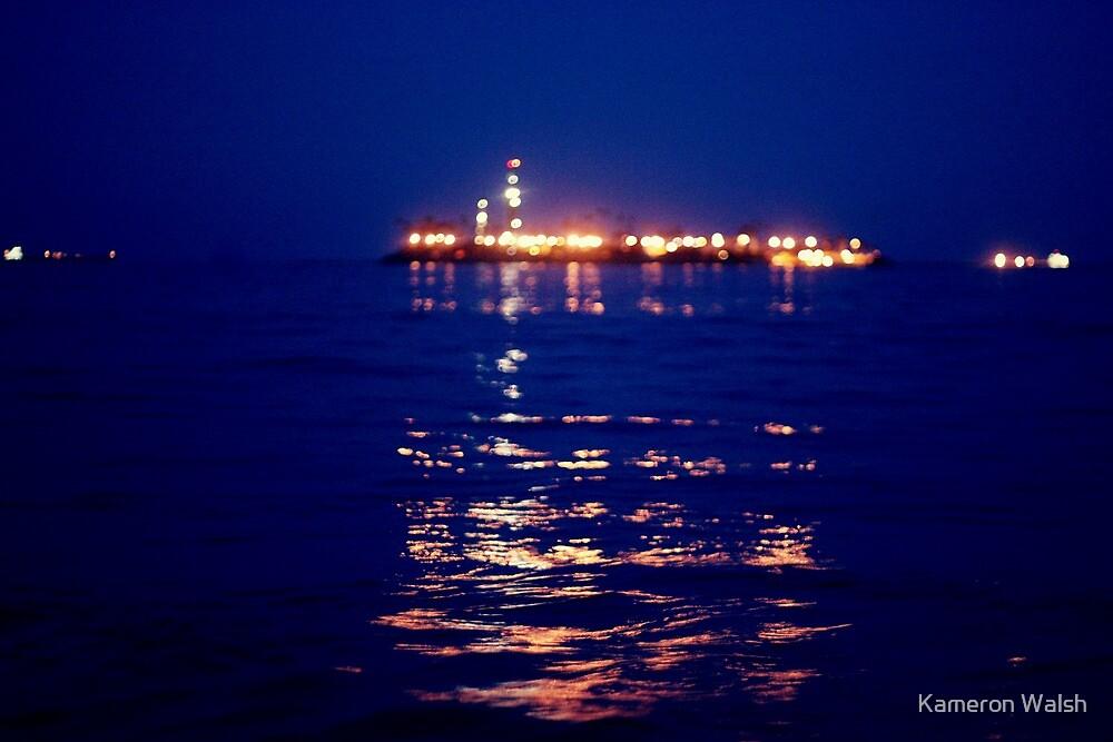 Dark Blue by Kameron Walsh