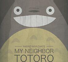 My Neighbor Totoro by OurBrokenHouse