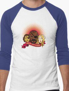Dia de los Tuertos Men's Baseball ¾ T-Shirt