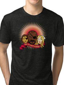 Dia de los Tuertos Tri-blend T-Shirt