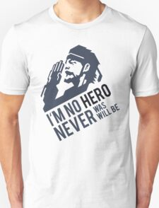 MGS04 - SALUTE, NO HERO T-Shirt