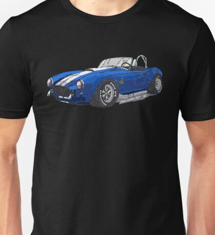 1966 Shelby Cobra 427 Pen and Ink Sketch Unisex T-Shirt