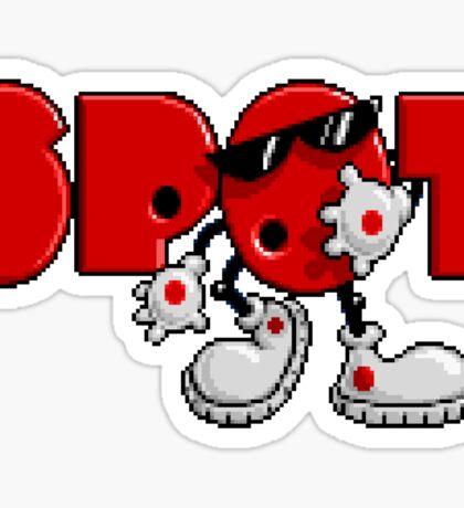 Cool Spot - SNES Title Screen Sticker
