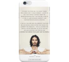Russell Brand quote iPhone Case/Skin