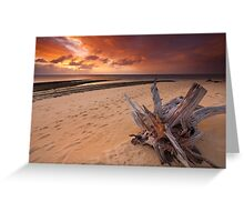 Green Island Sunrise Greeting Card
