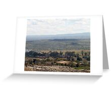 Giotto Dump Site 5.0 - Nakuru Greeting Card