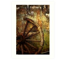 And the Wheel Went Round..... Art Print