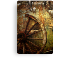 And the Wheel Went Round..... Canvas Print