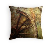 And the Wheel Went Round..... Throw Pillow
