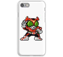 Kamen Rider Stronger - NES Sprite iPhone Case/Skin