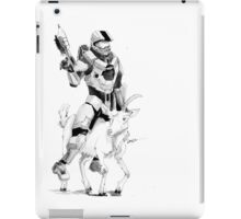Chief and his Mighty Steed iPad Case/Skin