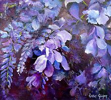 Wisteria by Cathy Gilday