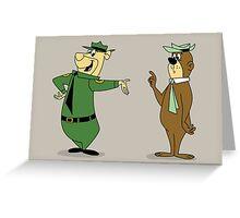 Bear-Faced Ranger Greeting Card