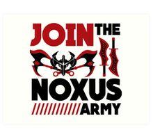 Noxus army Art Print