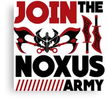 Noxus army Canvas Print