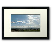 Giotto Dump Site 7.0 - Nakuru Framed Print