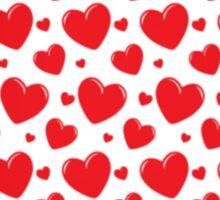 Valentine Hearts   Sticker