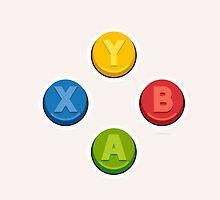 Xbox Controller Buttons by dudsbessa