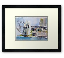 View of Sydney from McMahons Point Framed Print