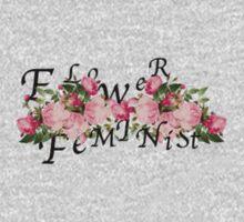 flower feminist Kids Clothes