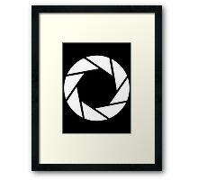 Aperture Photography T-Shirt Framed Print