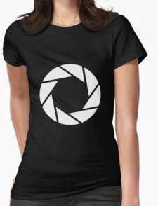 Aperture Photography T-Shirt Womens Fitted T-Shirt