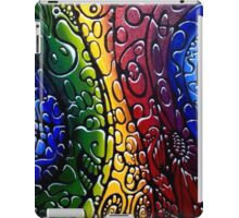 Psychedelic textured Hippy iPad Case/Skin