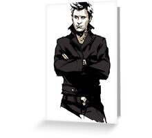Supernatural - Punk!Lucifer Greeting Card