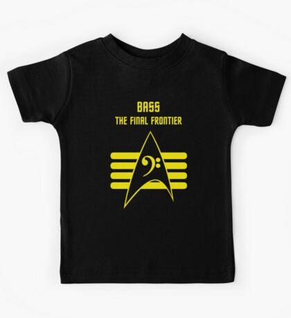 Bass -- The Final Frontier Kids Tee