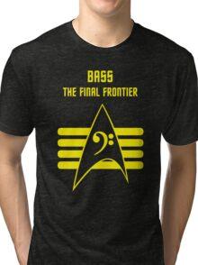 Bass -- The Final Frontier Tri-blend T-Shirt