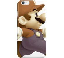Sepia Mario iPhone Case/Skin