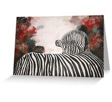 Polly's Zebra  Greeting Card