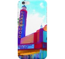 """Lakewood Theater"" iPhone Case/Skin"