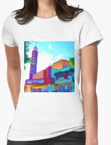 """Lakewood Theater"" Womens Fitted T-Shirt"
