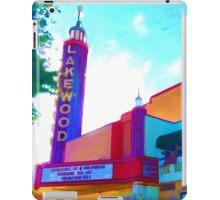 """""""Lakewood Theater"""" iPad Case/Skin"""