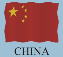 China flag by stuwdamdorp