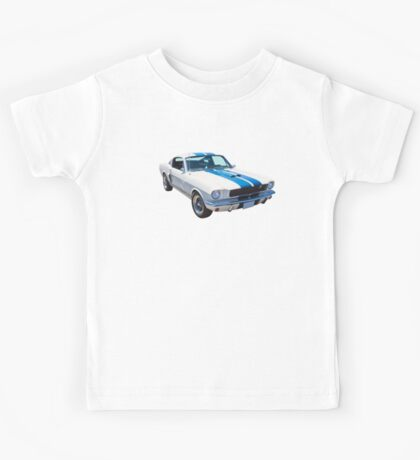 1965 GT350 Mustang Muscle Car Kids Tee