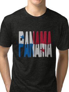 Panamanian flag Tri-blend T-Shirt