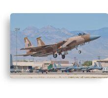 F-15C Eagle #WA AF 80-0024 Lifting Off Canvas Print