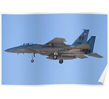 F-15C Eagle #TY AF 81-0045 On Approach Poster