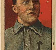 Benjamin K Edwards Collection Jimmy Burke Indianapolis Team baseball card portrait by wetdryvac