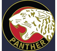 Panther Motorcycle Logo Photographic Print