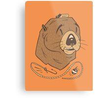Sea Fairing Otter Metal Print