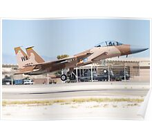 F-15D Eagle #WA AF 78 0567 Taking Off Poster