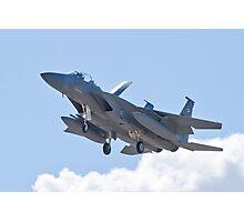 F-15D Eagle, #TY AF 80 0056 Landing Photographic Print