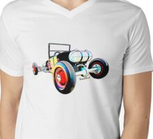 Classic Hot Rod T in a Stormy Sunset Mens V-Neck T-Shirt
