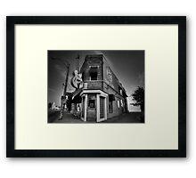 The Legendary Sun Studio 002 BW Framed Print