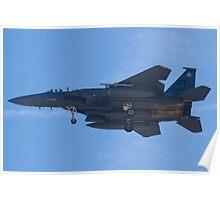 OT AF 91-0322 F-15E Strike Eagle Poster
