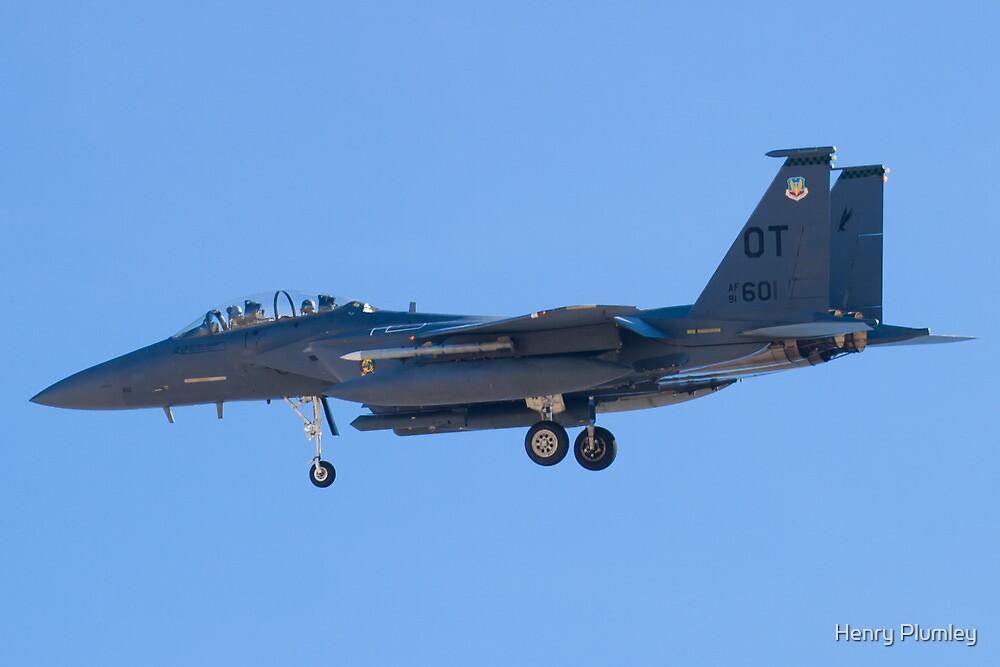 OT AF 91-0601 F-15E Strike Eagle by Henry Plumley