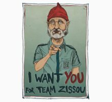 I Want You For Team Zissou by ziochecco